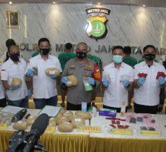 Polres Metro Jakbar Gagalkan Peredaran Narkoba Dimasa New Normal  Pandemi COVID-19
